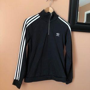 Black Adidas Quarter Zip